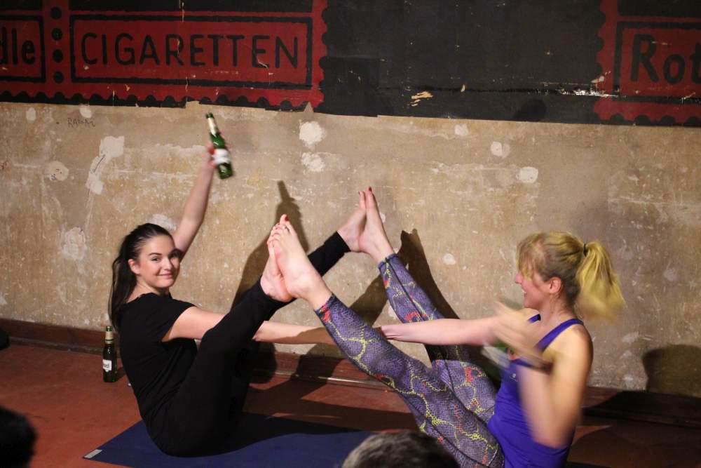 Bier-Yoga, Bieryoga
